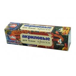 фото Набор акриловых красок для ткани Olki 2261