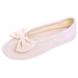 Купить Балеринки домашние Isotoner 95811. Цвет: слоновая кость