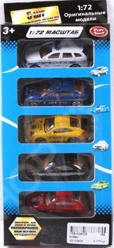 Набор машинок коллекционных PlaySmart Р41290 Набор машинок коллекционных PlaySmart Р41290 /
