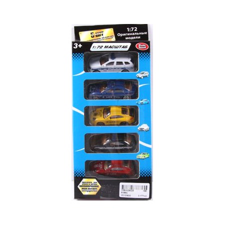 Купить Набор машинок коллекционных PlaySmart Р41290