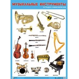 фото Музыкальные инструменты эстрадно-симфонические