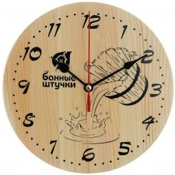 Купить Часы кварцевые для бани и сауны Банные штучки