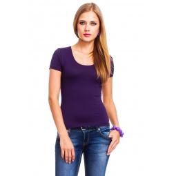 фото Футболка Mondigo 490. Цвет: темно-фиолетовый. Размер одежды: 42