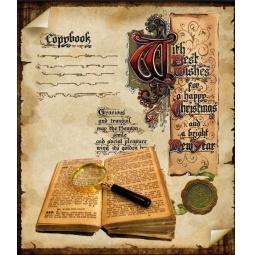 Купить Тетрадь в клетку Пересвет «Старинные книги». В ассортименте
