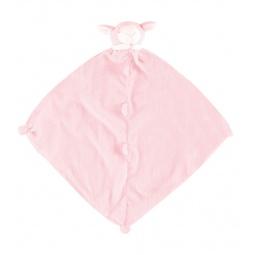 фото Покрывальце-игрушка Angel Dear Ягненок. Цвет: розовый