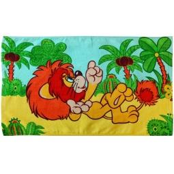 фото Полотенце махровое Мульткарнавал «Как Львенок и Черепаха песню пели». В ассортименте