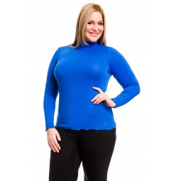 фото Водолазка Mondigo XL 1474. Цвет: синий. Размер одежды: 52