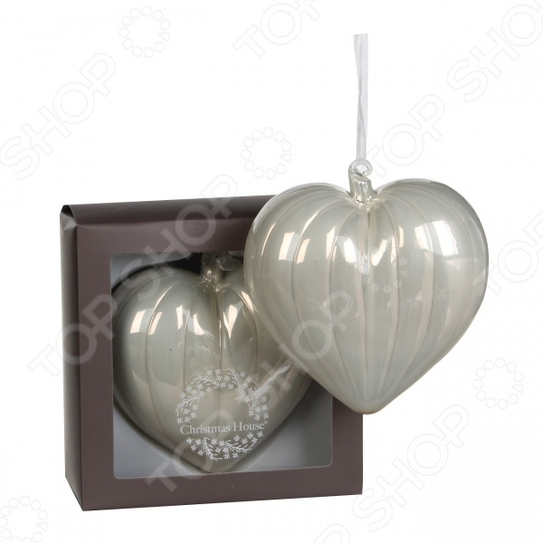 Елочное украшение Christmas House «Сердце» 1694604
