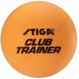 фото Мяч для настольного тенниса Stiga Club Trainer. Цвет: оранжевый