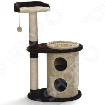 Домик-когтеточка с полочкой Beeztees Casa цена