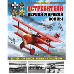 Купить Истребители Первой Мировой. Более 100 типов боевых самолетов