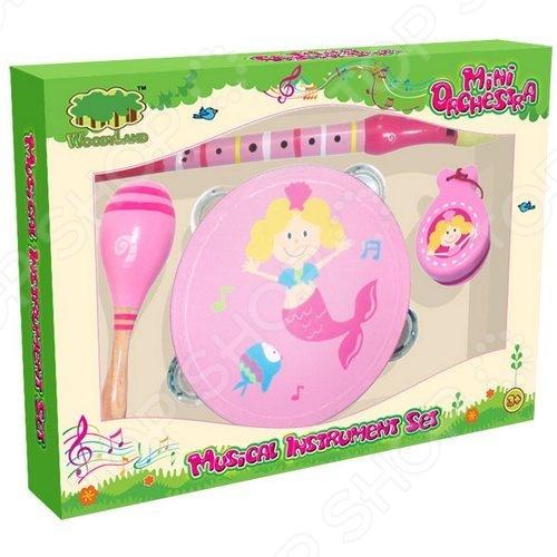 Набор музыкальных инструментов Toys Lab 72007 toys lab конструктор цирковой поезд