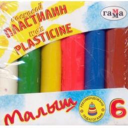 Купить Набор пластилина воскового Гамма «Малыш»