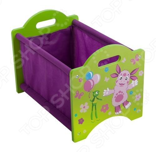 Ящик для хранения игрушек Лунтик ZM002LB