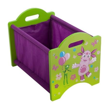 Купить Ящик для хранения игрушек Лунтик ZM002LB