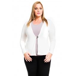 фото Жакет Mondigo XL 426. Цвет: молочный. Размер одежды: 52