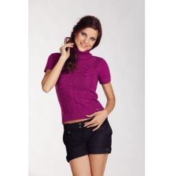 фото Свитер вязаный Mondigo 9004. Цвет: фуксия. Размер одежды: 46