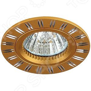 Светильник встраиваемый Эра KL33 ALСпоты встраиваемые<br>Светильник встраиваемый Эра KL33 AL это светильник, способный служить как дополнительным, так и основным источником света в небольшой комнате . Встраиваемый светильник подходит для комнаты с низким потолком, поскольку занимает совсем немного места. Дизайн светильника это важный акцент интерьера. Вместе с бра или подсветкой он создает интересный световой ансамбль, преображающий комнату. Светильник оформлен в современном стиле и прекрасно подойдет для офиса или гостиной.<br>