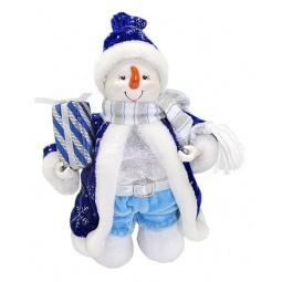 фото Игрушка новогодняя Новогодняя сказка «Снеговик» 949194