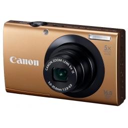 фото Фотокамера цифровая Canon PowerShot A3400 IS. Цвет: золотистый