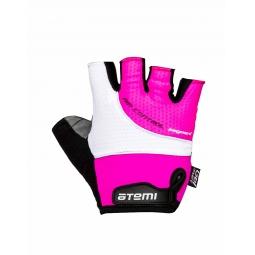 фото Перчатки велосипедные детские Atemi AGC-08. Цвет: розовый. Размер: 3XS. Возраст: от 3 до 5 лет