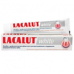 Купить Набор зубных паст Lacalut «White и White alpenminze»