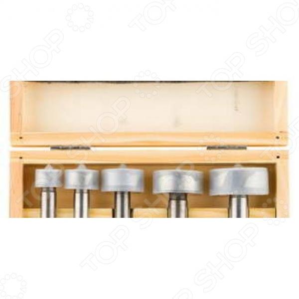 Набор сверл Форстнера по дереву Stayer Master 29985-H5 набор пневмоинструмента stayer master 06487 h5