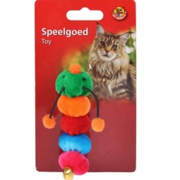 фото Игрушка для кошек Beeztees «Гусеница». В ассортименте