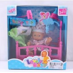 Купить Пупс с аксессуарами Lovely Baby 1707305