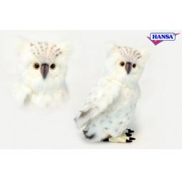 фото Мягкая игрушка Hansa «Сова белая»