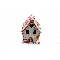 Купить Декорация с подсветкой Crystal Deco «Пряничный домик» 1707926