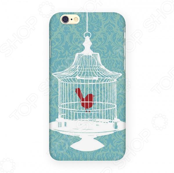 Чехол для iPhone 6 Mitya Veselkov «Птичка в клетке» mitya veselkov будка в лондоне