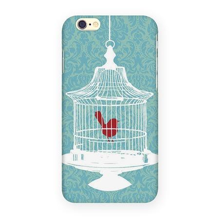 Чехол для iPhone 6 Mitya Veselkov «Птичка в клетке»