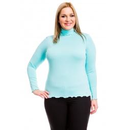 фото Водолазка Mondigo XL 1474. Цвет: мятный. Размер одежды: 50