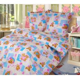 фото Ясельный комплект постельного белья Бамбино «Мишутки»