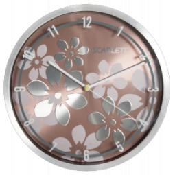 фото Часы настенные Scarlett SC-33 B