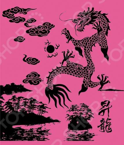 Тетрадь в клетку Пересвет «Китайский дракон». В ассортименте