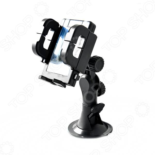 Держатель телефона с двумя вариантами крепежа FK-SPORTS UH-540 домашний телефон с двумя трубками