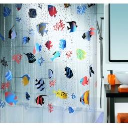 Купить Штора для ванной комнаты Spirella FISH
