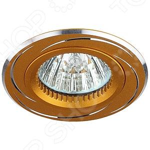 Светильник встраиваемый Эра KL34 AL это светильник, способный служить как дополнительным, так и основным источником света в небольшой комнате . Встраиваемый светильник подходит для комнаты с низким потолком, поскольку занимает совсем немного места. Дизайн светильника это важный акцент интерьера. Вместе с бра или подсветкой он создает интересный световой ансамбль, преображающий комнату. Светильник оформлен в современном стиле и прекрасно подойдет для офиса или гостиной.