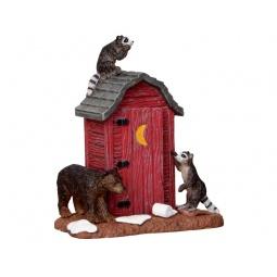 Купить Фигурка керамическая Lemax «Пристанище диких зверей»