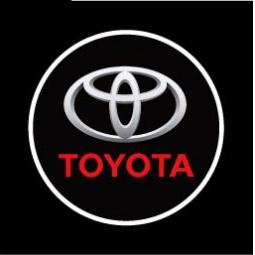 фото Светодиодные проекторы Courtesy door ligh логотипа автомобиля Toyota