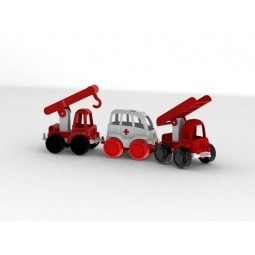 фото Набор машинок игрушечных Нордпласт «МЧС. Нордик»