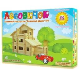 Купить Конструктор деревянный Лесовичок «Разборный домик №7»