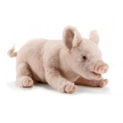 фото Мягкая игрушка для ребенка Hansa «Свинка»