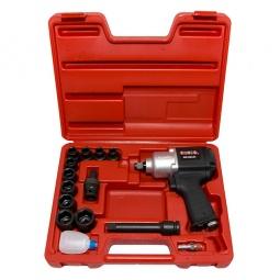 Купить Набор инструмента: пневмогайковерт с ударными головками Force F-4142-3