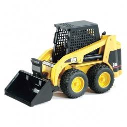 фото Машинка игрушечная Bruder «Мини Погрузчик CAT с ковшом»