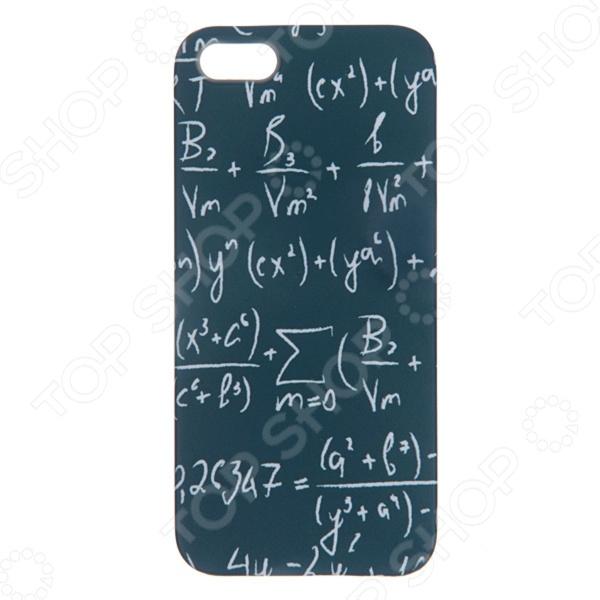 Чехол для iPhone 5 Mitya Veselkov «Школьная доска» чехол для iphone 5 mitya veselkov жизнь прекрасна