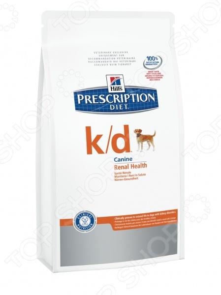 Корм сухой диетический для собак Hill's K/D Prescription Diet Canine Renal Health