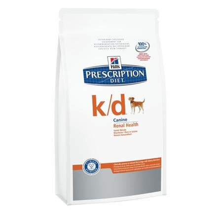 Купить Корм сухой диетический для собак Hill's K/D Prescription Diet Canine Renal Health